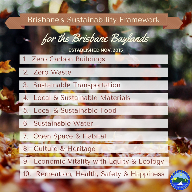 Sustainability Framework For The Baylands Final Report November 2015