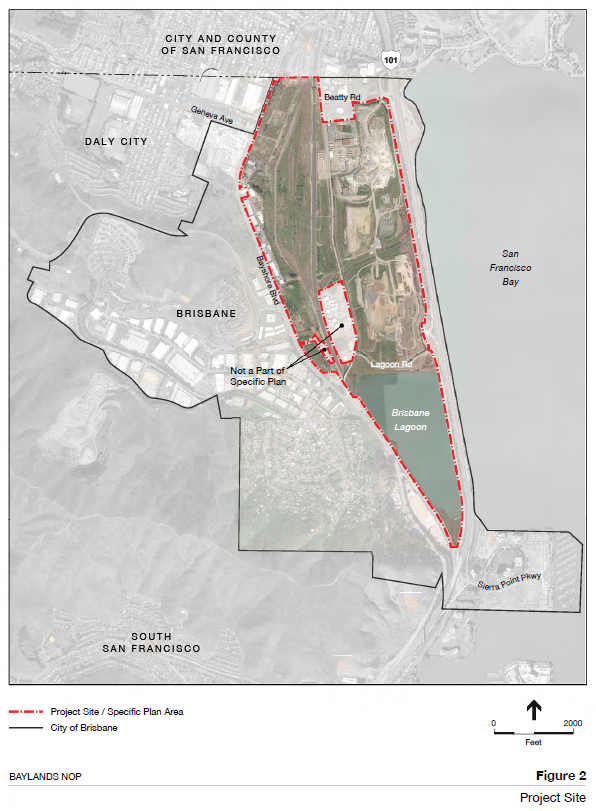 baylands project site