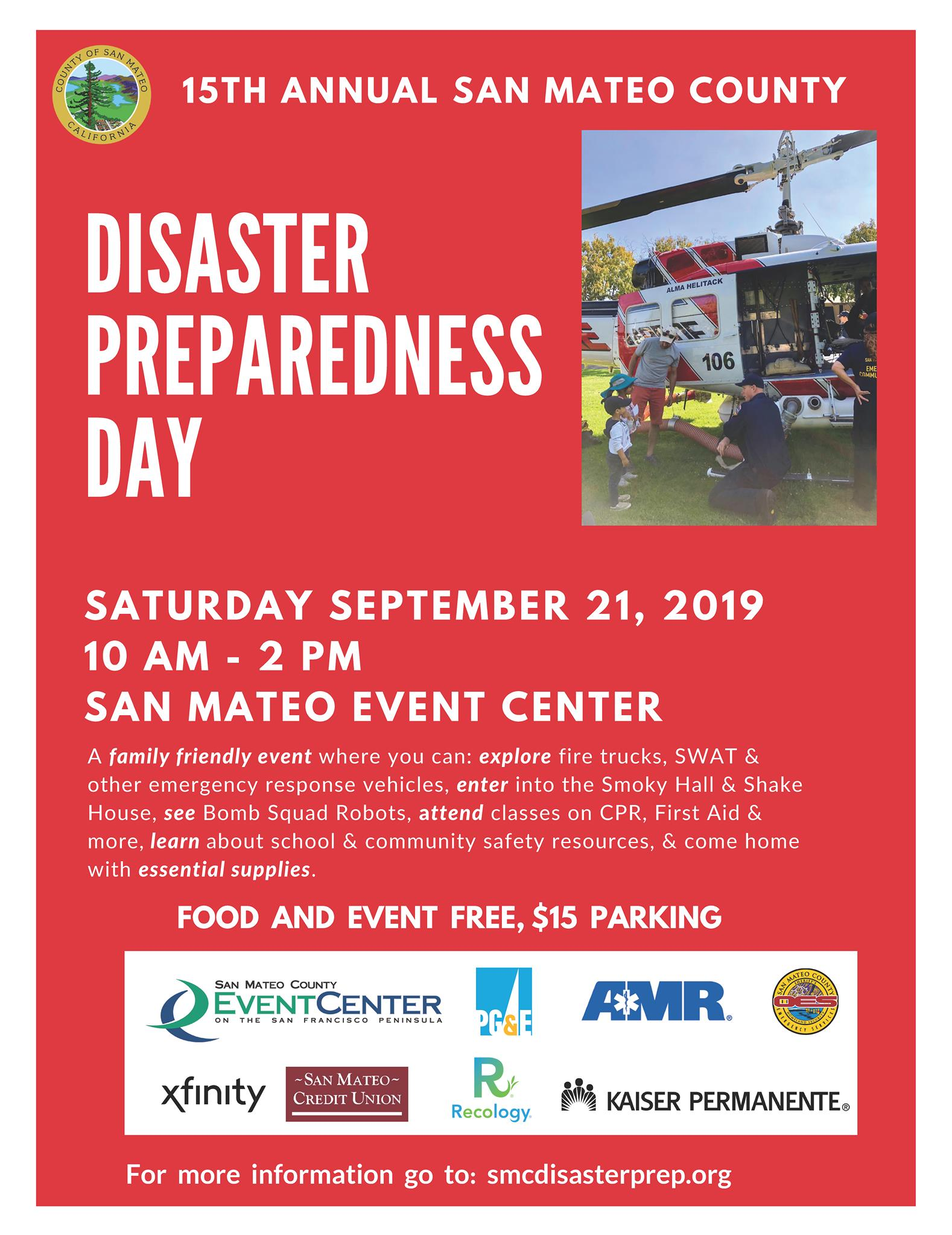 Disaster Prep Day flyer
