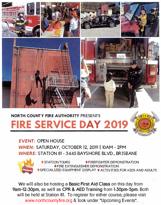 Fire Service Day updated flyer