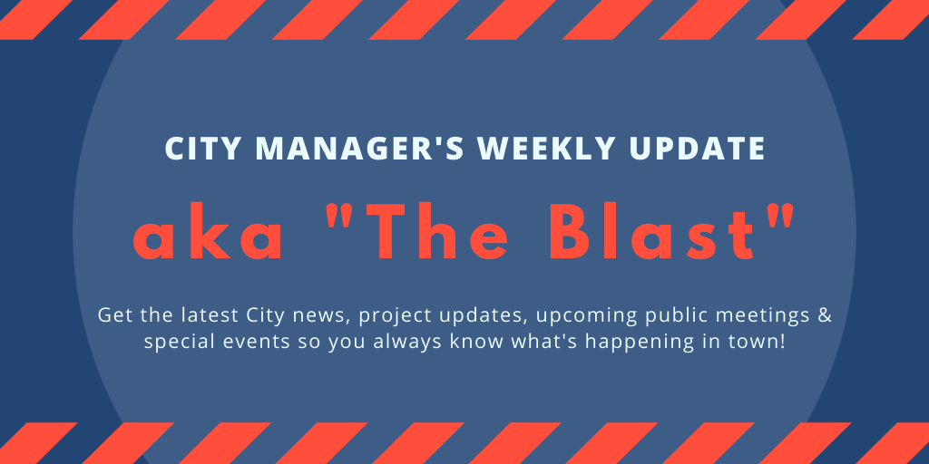 City Manager's Weekly Update