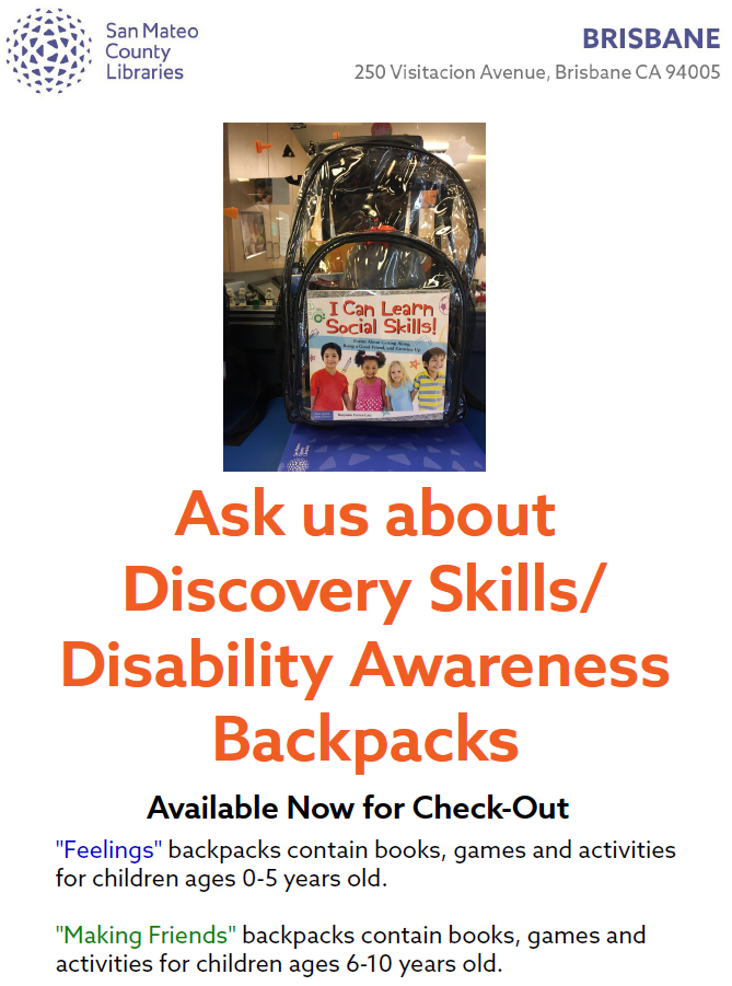 discovery skills backpack
