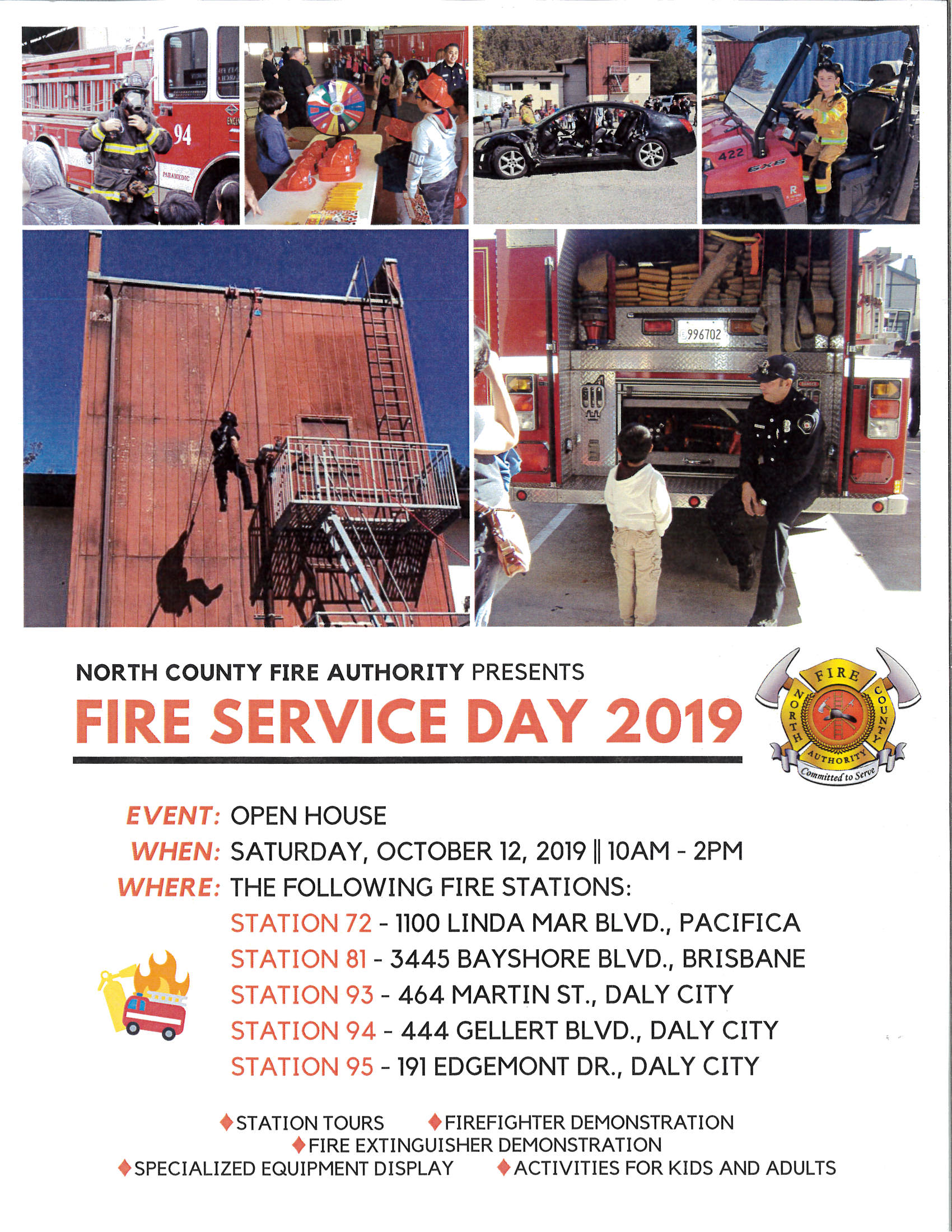 Fire Service Day 2019